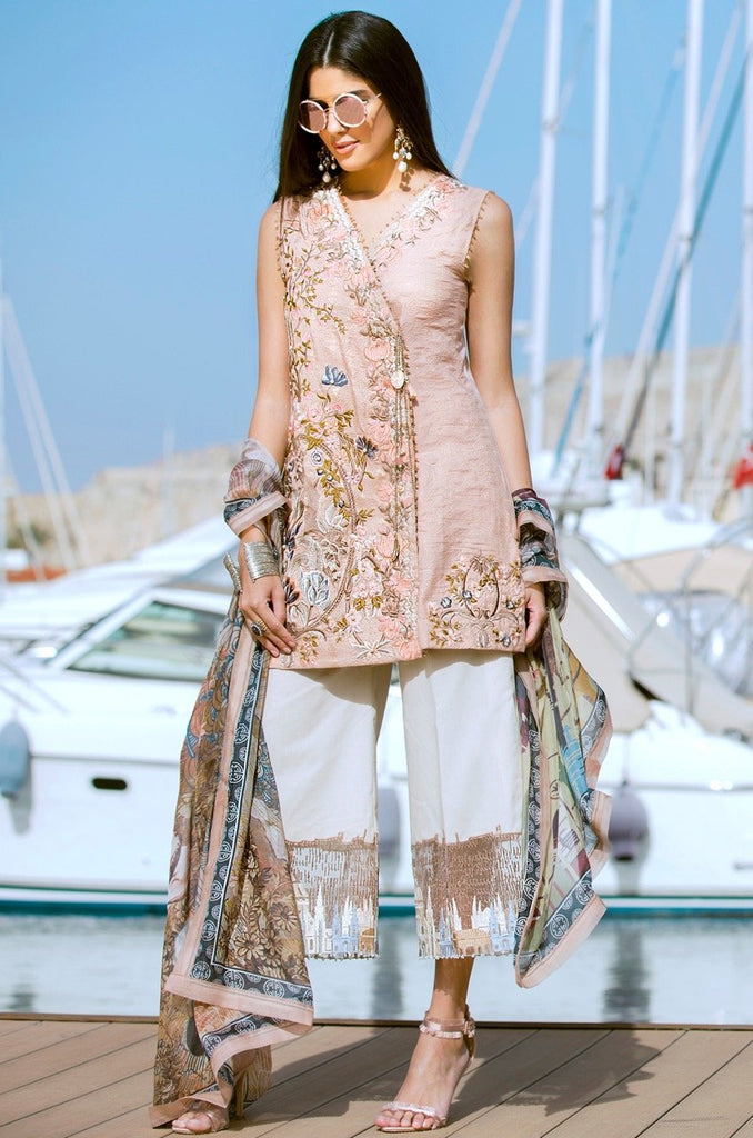 Shiza Hassan Luxury Lawn Collection '18 – Caprice -1A