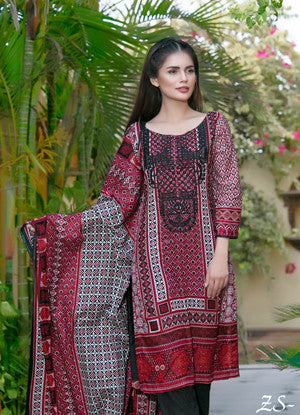 Sahil Embroidered Lawn Eid Collection Vol-10 – 09A