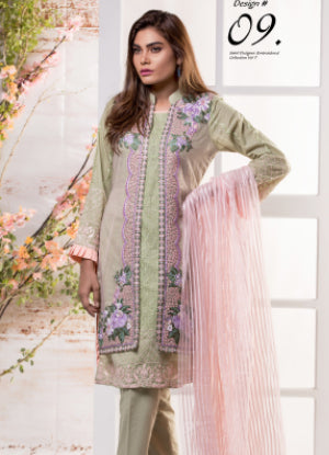 Sahil Designer Embroidered Eid Collection 2018 Vol 7 – SH7-9