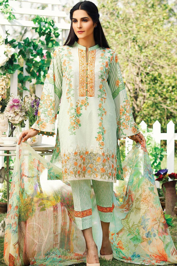 RajBari Embroidered Lawn Collection 2017 – 9A