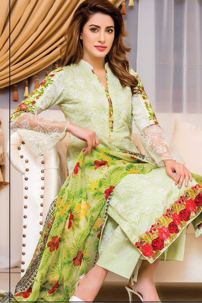 Sahil Designer Embroidered Lawn Collection Vol-9 – 9A