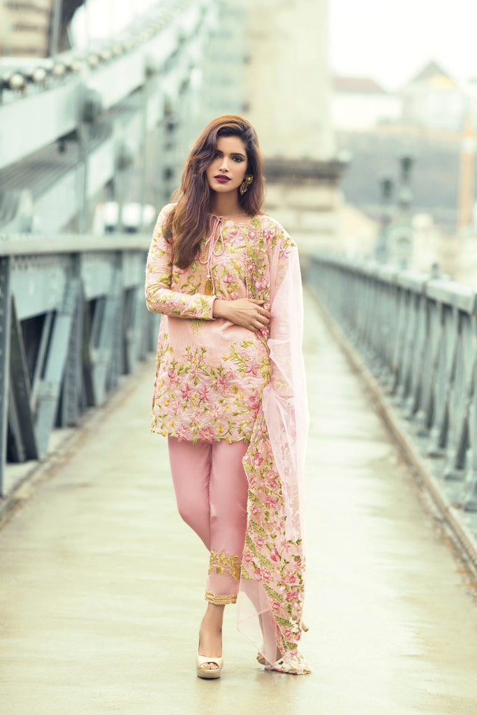 Mina Hasan Embroidered Lawn 2017 – 9A