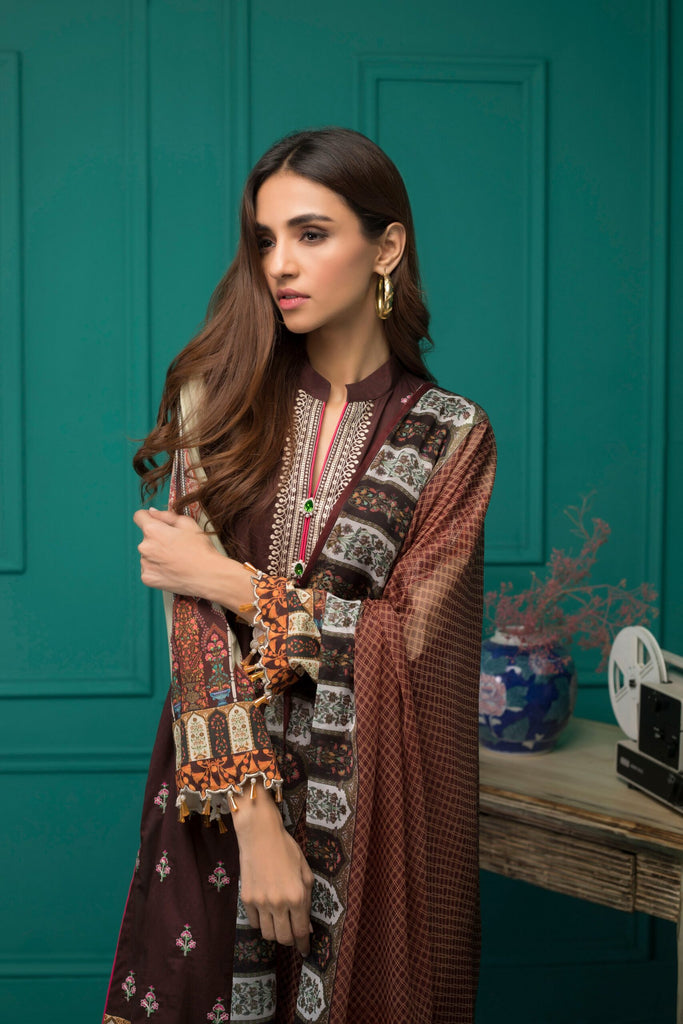 Sahil Designer Embroidered Lawn Collection – S20-9