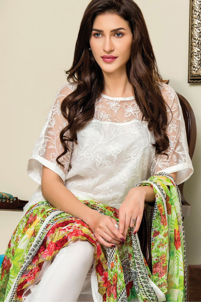 Sahil Designer Embroidered Lawn Collection Vol-9 – 9B