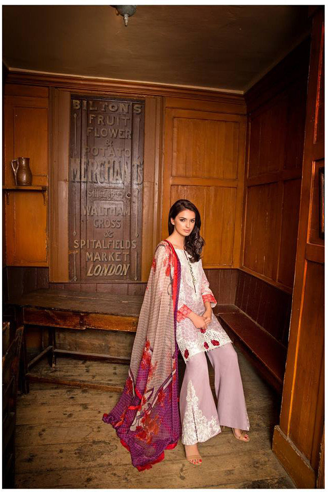 Sobia Nazir Lawn Collection '16 – 9B - YourLibaas
