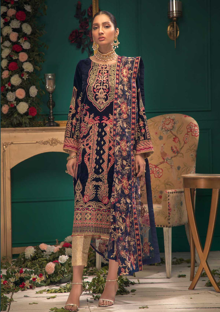 AIK Shaam E Firaaq Velvet Collection 2020 – Look 04