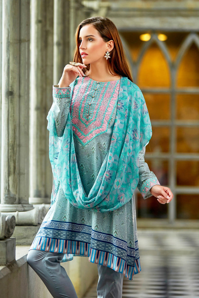 Bashir Ahmad Florence Lawn Collection Vol 1 – FL05A - YourLibaas  - 1