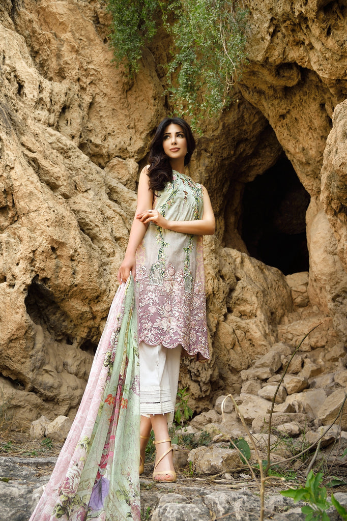 Rungrez Spring/Summer Lawn Collection 2016 – Angelic Charm - YourLibaas  - 1