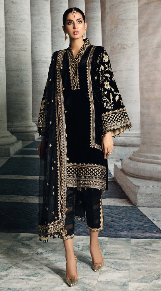 Anaya by Kiran Chaudhry – Velour De Luxe Velvet Collection – CELIA
