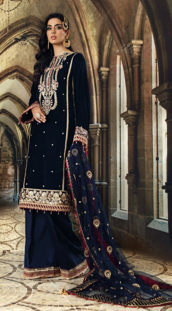 Anaya by Kiran Chaudhry – Velour De Luxe Velvet Collection – ZURI