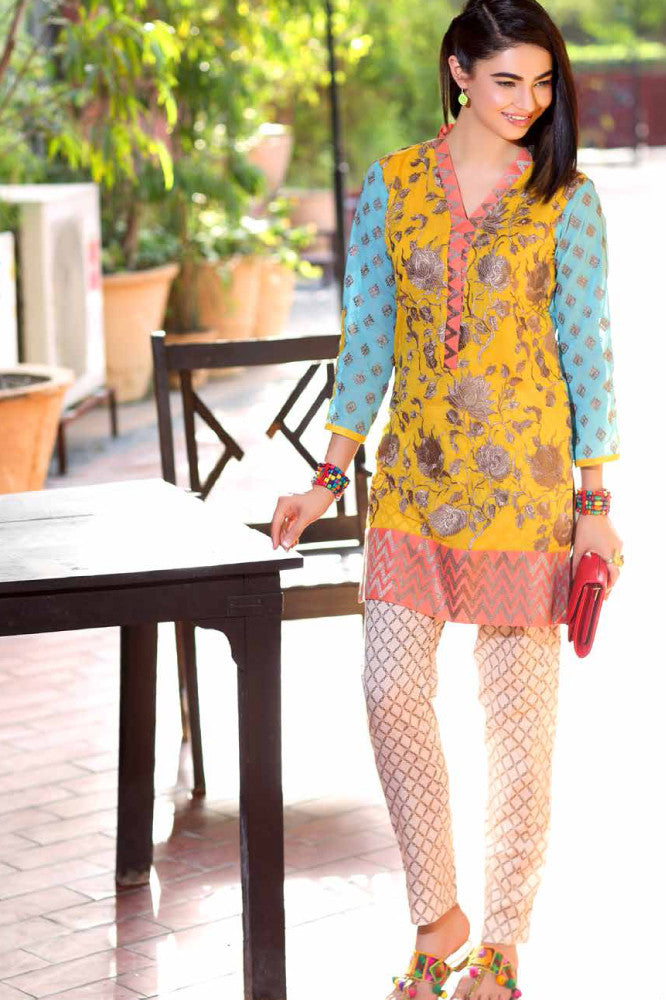 Charizma Belle 2 Piece Eid Collection – BL-01 - YourLibaas  - 1