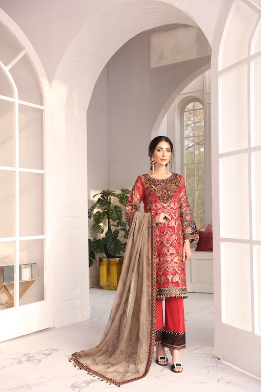 Flossie Executive Luxury Chiffon Collection Vol-1 – CRYSTAL LOFT Style 1