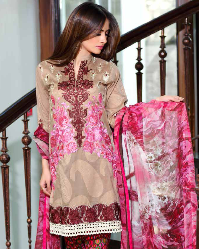 Charizma Embroidered Swiss Range Vol-3 – CSR-18 - YourLibaas  - 1