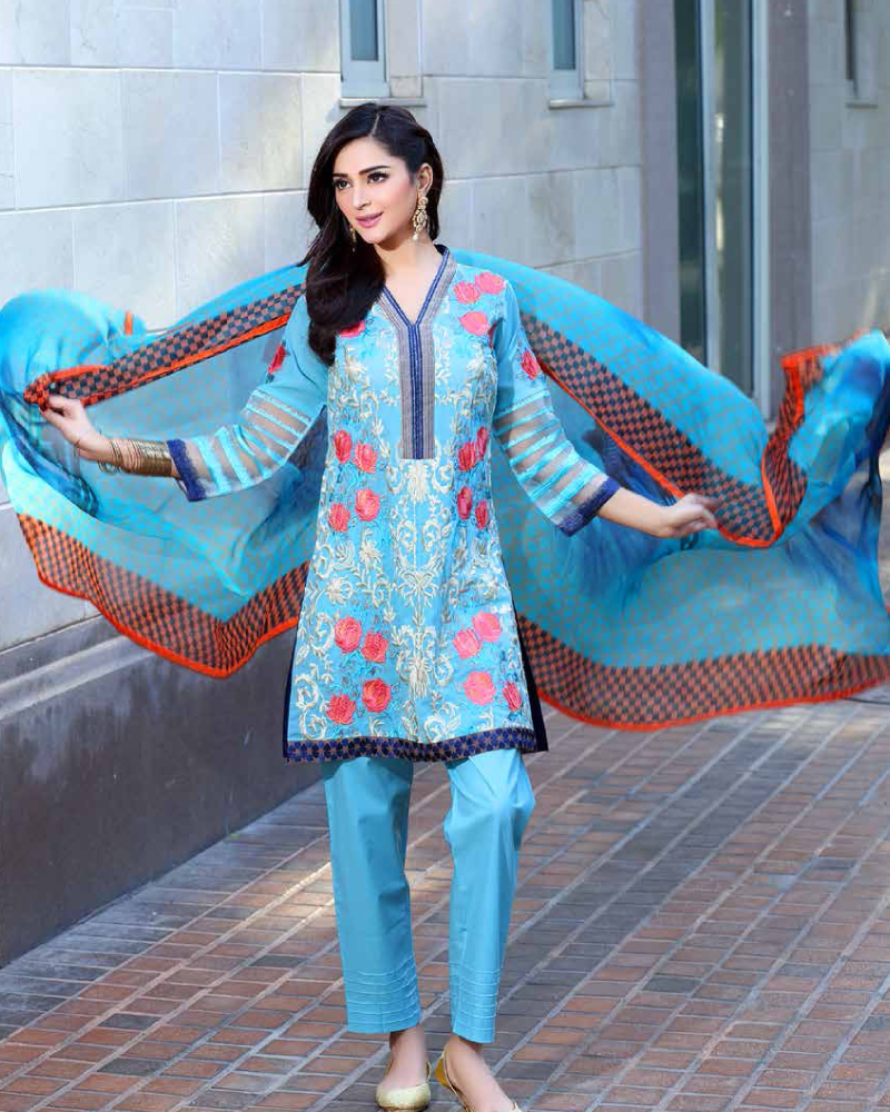 Charizma Embroidered Swiss Range Vol-3 – CSR-19 - YourLibaas  - 1
