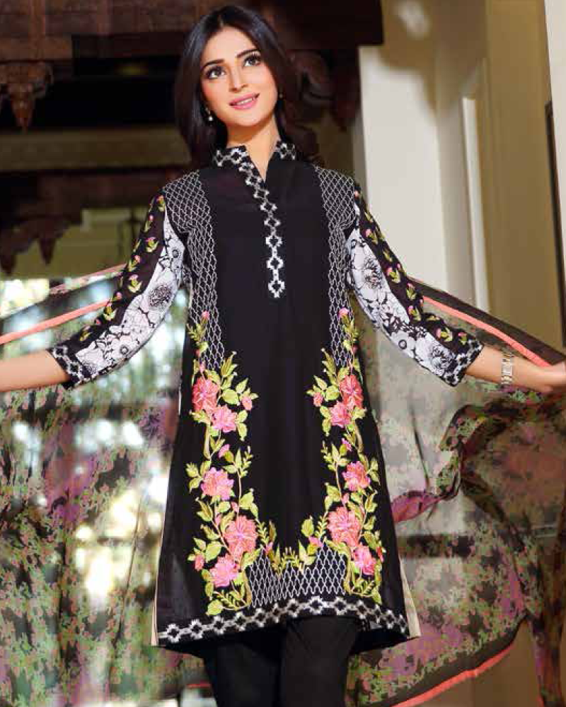 Charizma Embroidered Swiss Range Vol-3 – CSR-21B - YourLibaas  - 1