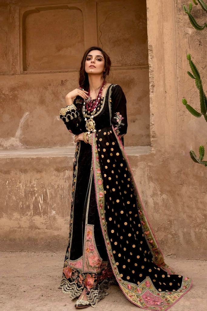Crimson X Saira Shakira Winter Collection 2020 – Mast Musafir - Ebony