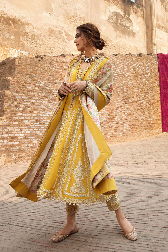 Crimson X Saira Shakira Winter Collection 2020 – Modern Memsaab - Amber