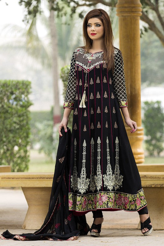 MTF Embroidered Chiffon Collection 2017 – Design 3