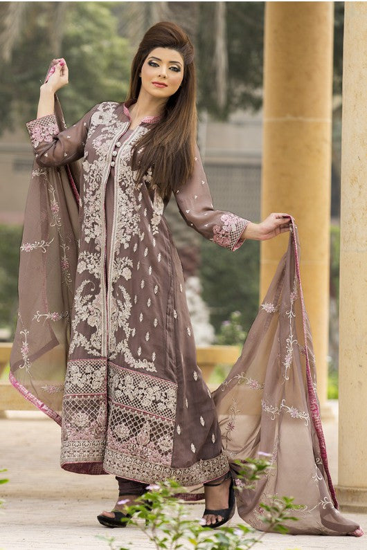 MTF Embroidered Chiffon Collection 2017 – Design 4