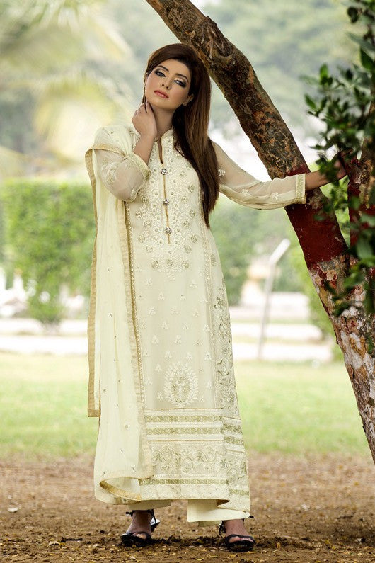 MTF Embroidered Chiffon Collection 2017 – Design 5