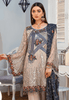Maryam's Gold Luxury Embroidered Chiffon Collection Vol 6 – MG-70 Salvia