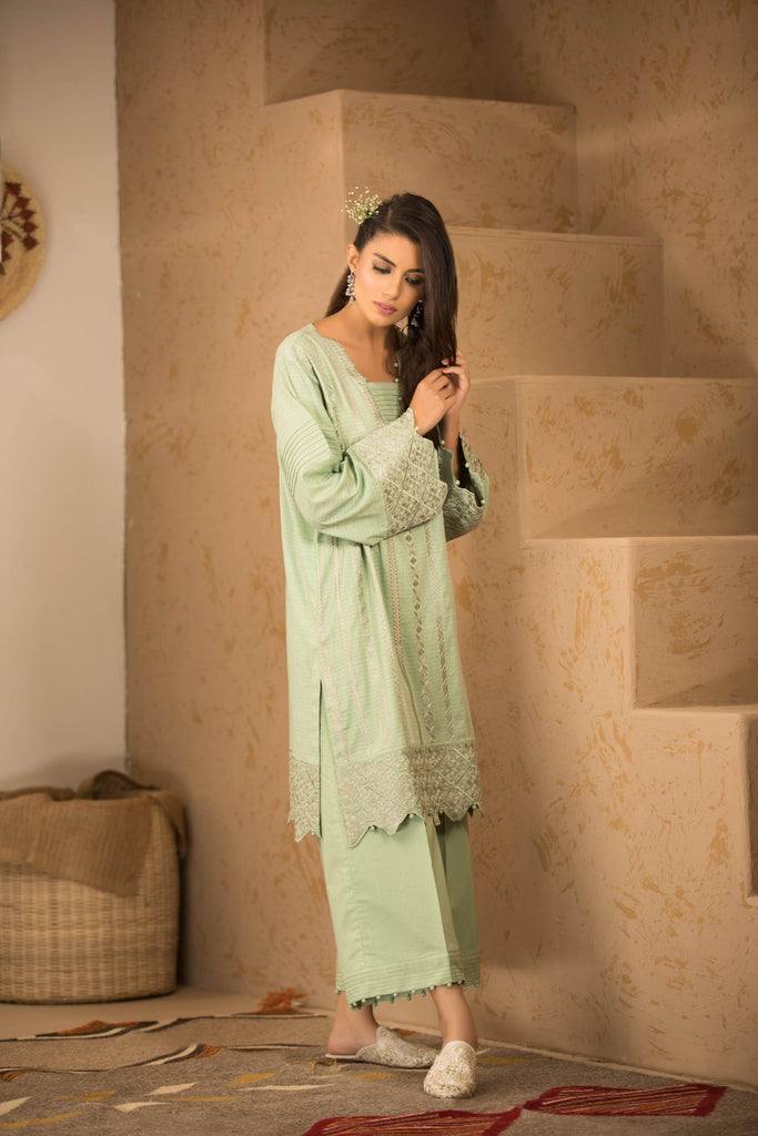 Sapphire Naqsh Dar Lawn Eid Collection Vol-V – Dusky Blue B