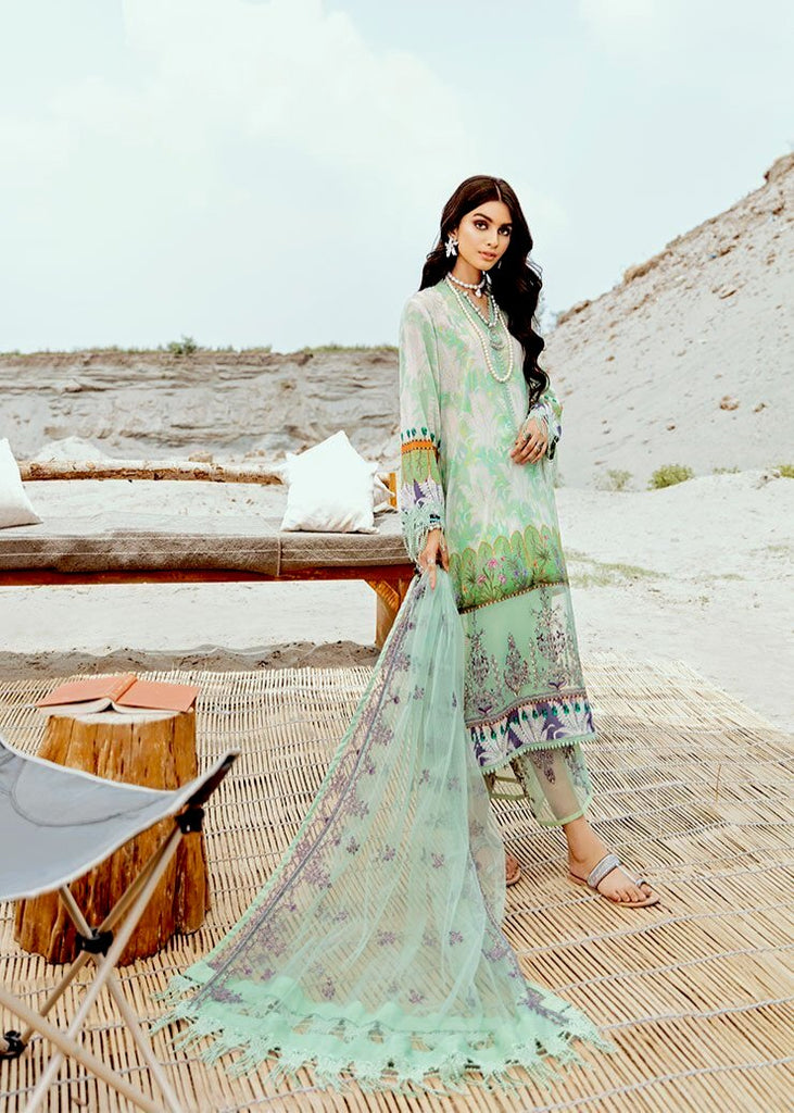Afrozeh Riwaj Lawn Collection 2020 – 01 - Bashful Whisper