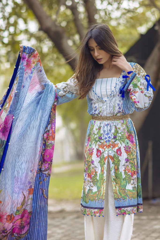 Noor by Saadia Asad - Spring/Summer Lawn Collection – Blooming Petals