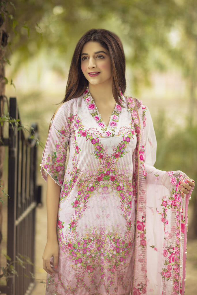 Noor by Saadia Asad - Spring/Summer Lawn Collection – Mystic Romance