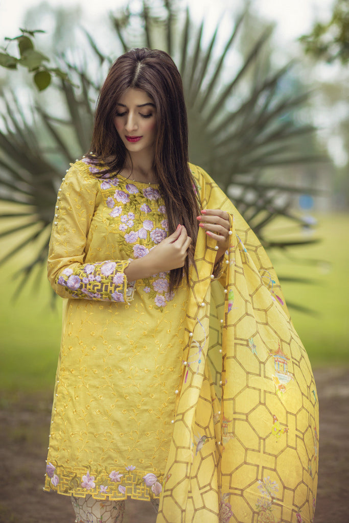 Noor by Saadia Asad - Spring/Summer Lawn Collection – Sunshine Bamboo