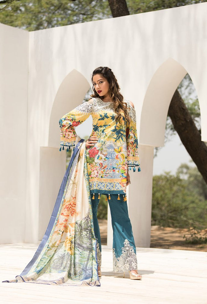 Firdous Eid Exclusive Collection 2017 – EE-03 Tuscany