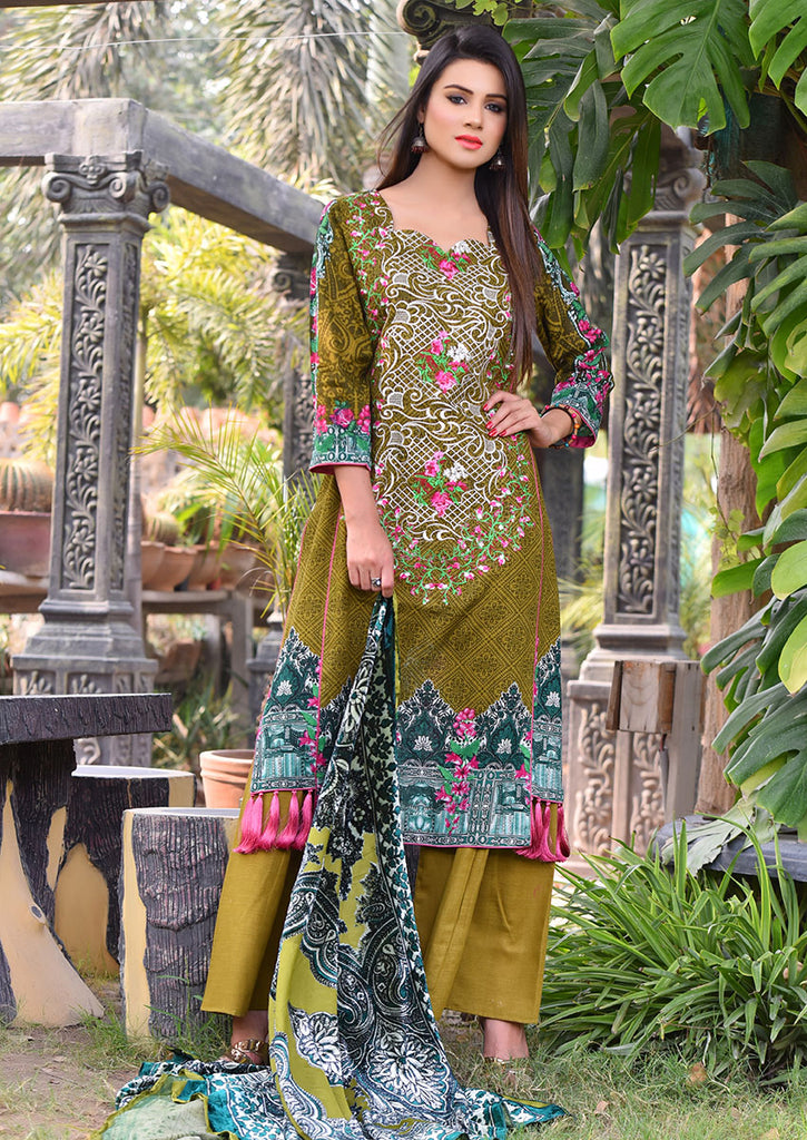 Emaan Eshaal Plachi Khadder Winter Collection – 3A