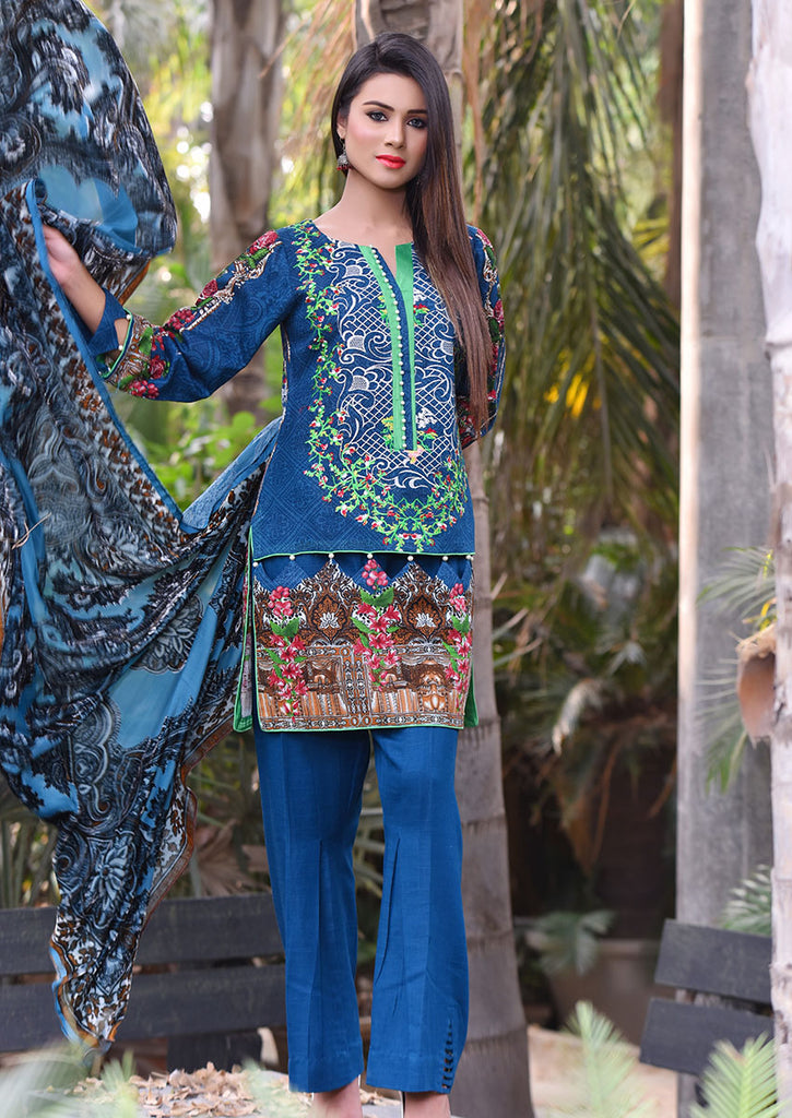 Emaan Eshaal Plachi Khadder Winter Collection – 3B