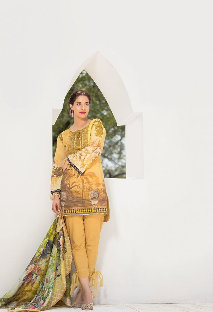 Firdous Eid Exclusive Collection 2017 – EE-04 Sunset