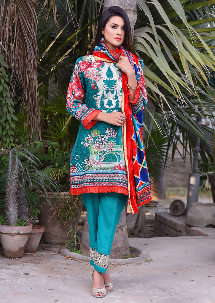 Emaan Eshaal Plachi Khadder Winter Collection – 4A