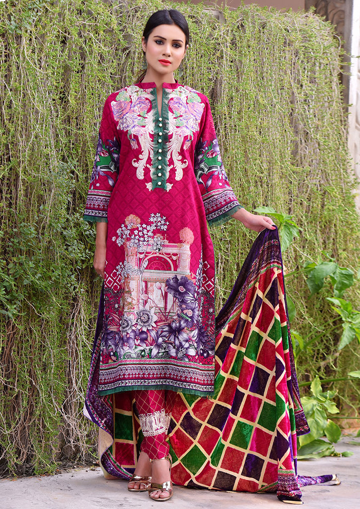 Emaan Eshaal Plachi Khadder Winter Collection – 4B