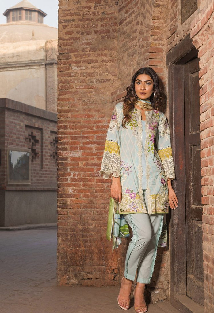 Firdous Eid Exclusive Collection 2017 – EE-14 Lily Lane