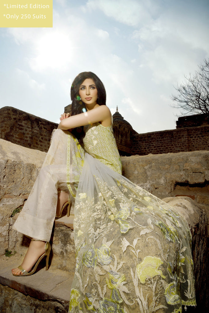 Rungrez Spring/Summer Lawn Collection 2016 – Exquisite Marvel - YourLibaas  - 1