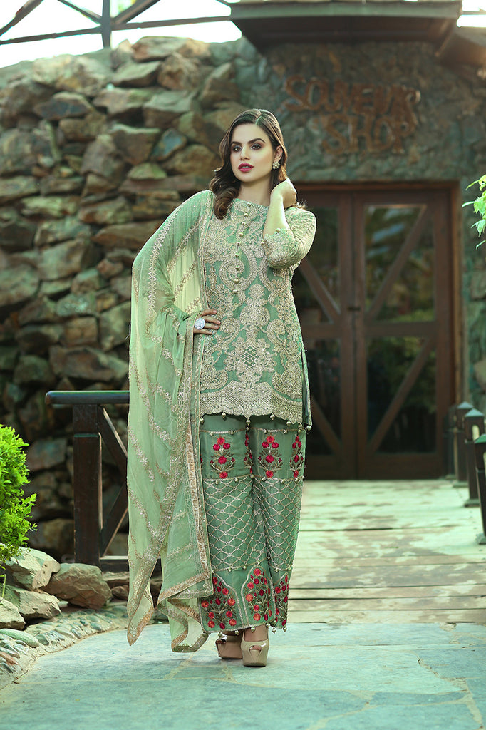 Rangreza Embroidered Chiffon Collection by Emaan Adeel – Ethnic Mirage