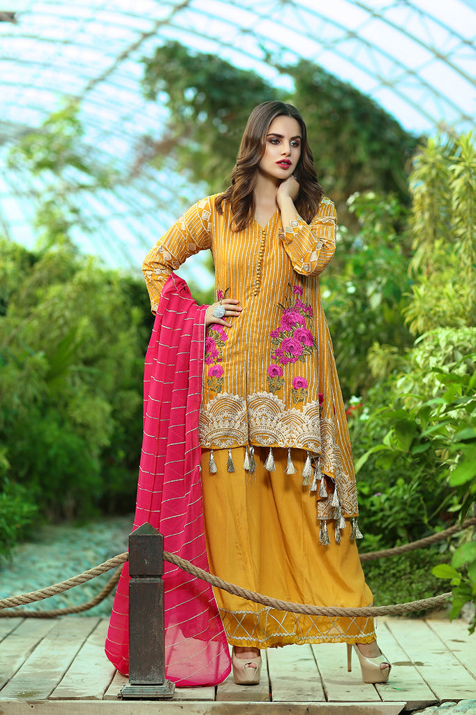 Rangreza Embroidered Chiffon Collection by Emaan Adeel – Tuscan Muse