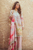 Faraz Manan Crescent Lawn Collection 2016 – FM16 Desert Rose - YourLibaas  - 1