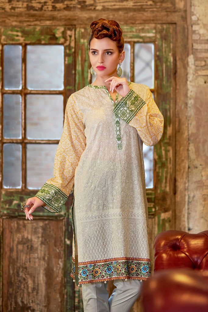 Bashir Ahmad Florence Lawn Collection Vol 1 – FL02A - YourLibaas  - 1