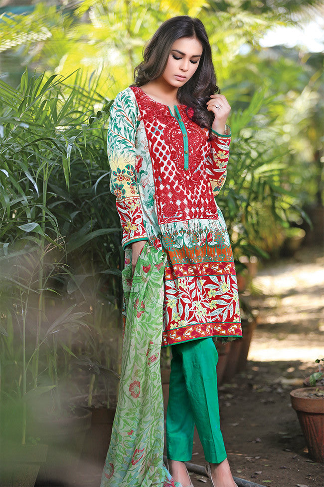 Gulaal Lawn Collection Volume 1 – Tropical Wonder GL-03 - YourLibaas  - 1