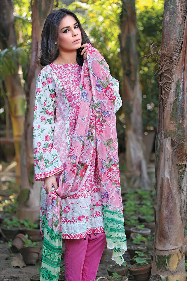 Gulaal Lawn Collection Volume 1 – Venetian Dream GL-07 - YourLibaas  - 1