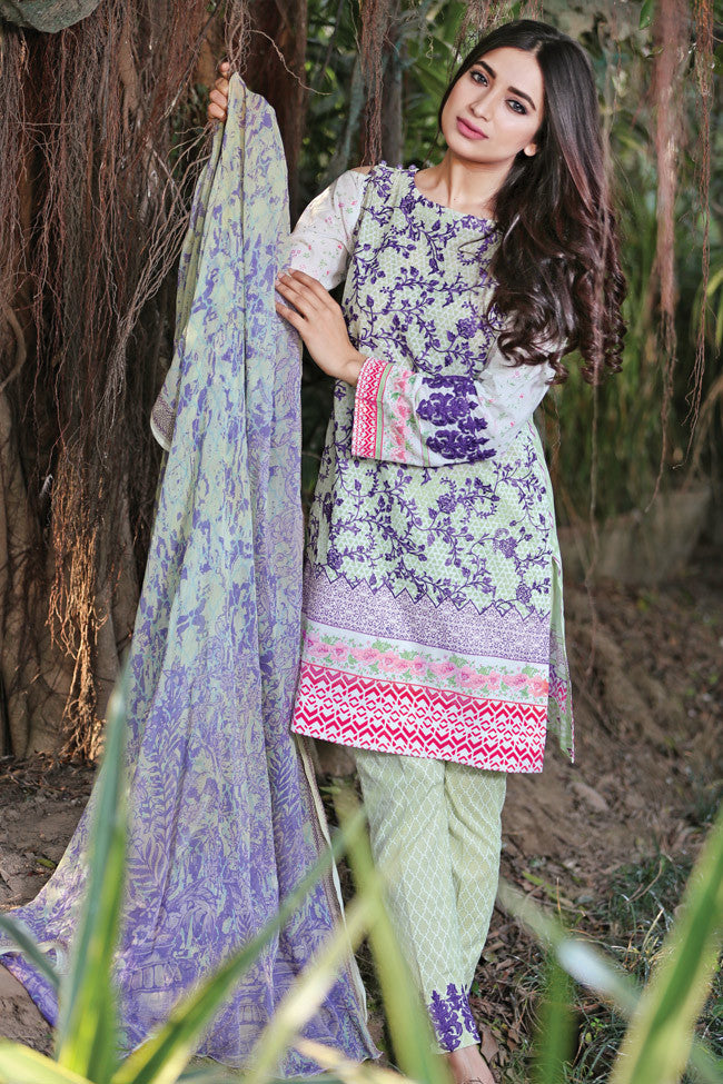 Gulaal Lawn Collection Volume 1 – Dream Forest GL-08 - YourLibaas  - 1