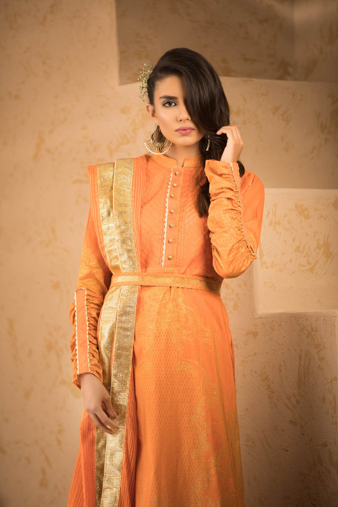 Sapphire Naqsh Dar Lawn Eid Collection Vol-V – Gothic Scent A