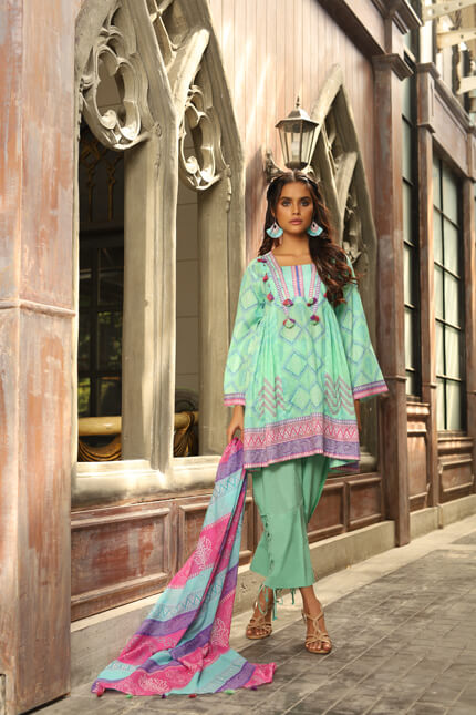 Lakhany by LSM Fabrics – Komal Spring Collection 2020 – KPS-2007 B