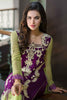 Iznik Luxury Chiffon Collection 2016 – Violet IZK02 - YourLibaas  - 3