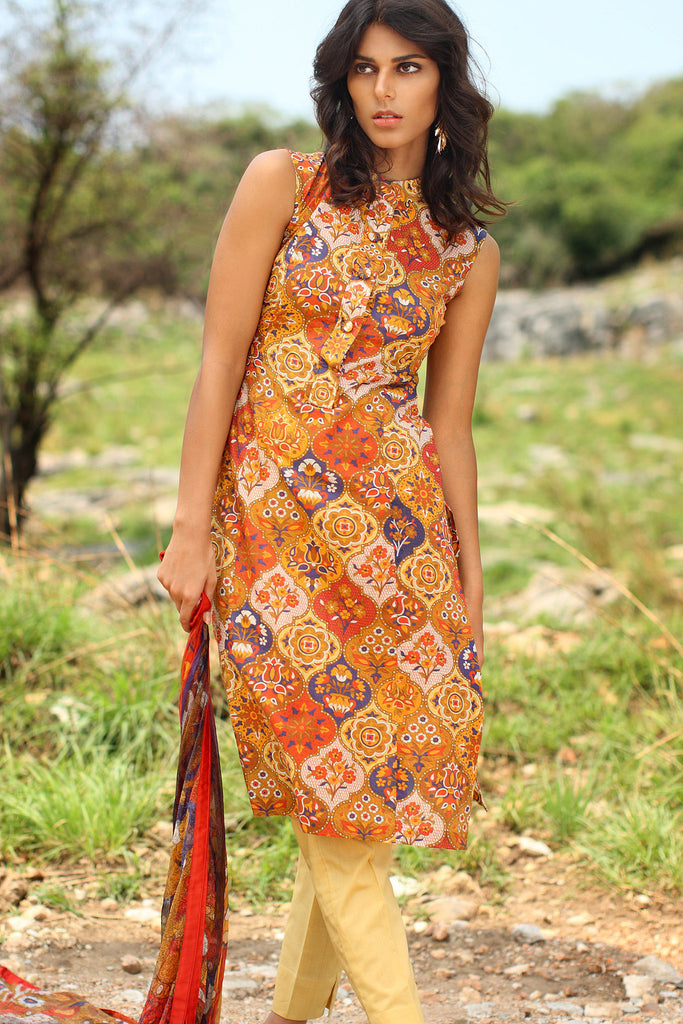 Klakari - The Haute Lawn Collection - Arabesque Delight KK02 - YourLibaas  - 1