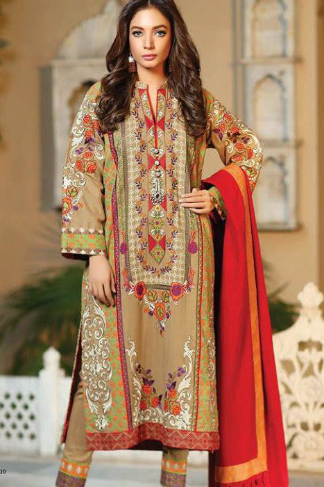 Charizma Nation Gold Winter Collection - LP549A - YourLibaas  - 1